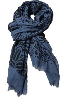 Echarpe Atelier Chilaze Arab Azul