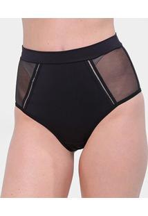 Calcinha Colcci Hot Pants - Feminino-Preto