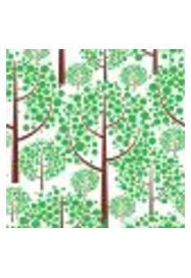 Papel De Parede Adesivo - Árvore Em Bolas - 005Ppn