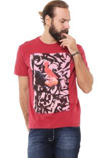 Camiseta Reserva Insta Palha Vermelha