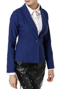 Blazer Feminino Azul