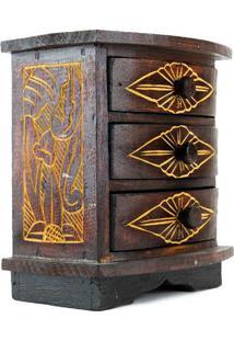 Mini Criado-Mudo Porta-Joias - Bali