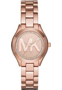 Relógio Michael Kors Mini Slim Runway Feminino - Feminino