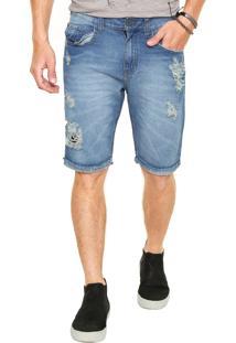 Bermuda Jeans John John Seul Azul