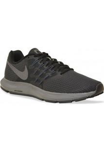 Tenis Nike Running Run Swift Preto Cinza
