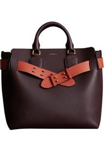 Burberry The Medium Leather Belt Bag - Vermelho