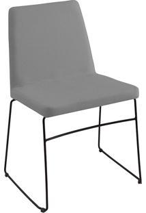 Cadeira Paris T1071-Daf Mobiliário - Cinza