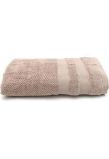 Toalha De Banho Artex Comfort Favo 80Cmx140Cm Bege