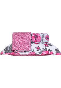 Colcha Ultrassonic King Com Porta Travesseiro Poppy