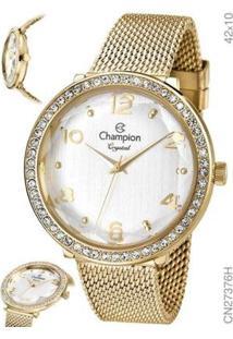 Relógio Champion Feminino Cn27376H - Feminino-Dourado