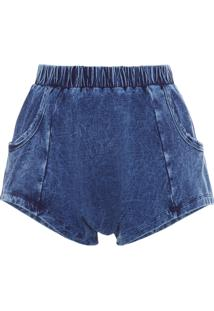Shorts Feminino Prancha - Azul