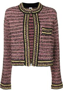 M Missoni Jaqueta De Tweed - Roxo