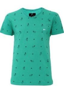 Camiseta Unak Pin Up Verde