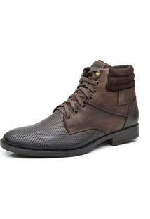 Bota Liferock Lr11011-1 Cafe