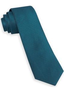 Gravata Tradicional Azul Turquesa
