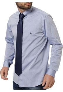 Gravata Masculina Azul
