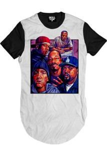 Camiseta Longline Kings Of Rap Masculina - Masculino