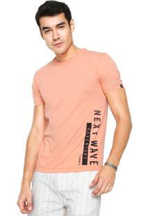 Camiseta Sommer Next Wave Coral