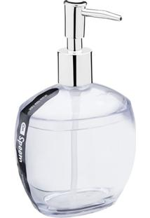 Porta Sabonete Líquido Spoom 330Ml Cristal