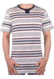 Camiseta Mcd Rapport Listras Masculino - Masculino