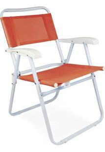 Cadeira Master Aço Fashion - Unissex-Coral