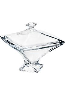 Bomboniere De Vidro Sodo-Cálcico Com Titanio Quadro 22,5Cm - Unissex