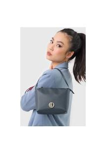 Bolsa Dumond Logo Azul-Marinho