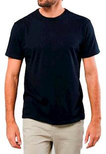 Camiseta Masculina Algodão Sandro Clothing Andrew Preta