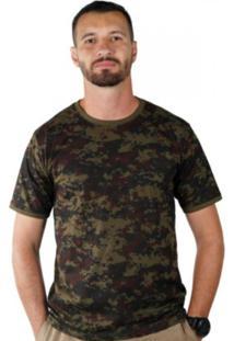 Camiseta Treme Terra Soldier Digital Verde