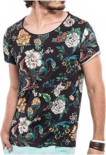 Camiseta Japanese Floral 103098