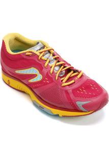 Tênis Newton Motion Stability Pop 1 Feminino - Feminino-Pink+Amarelo