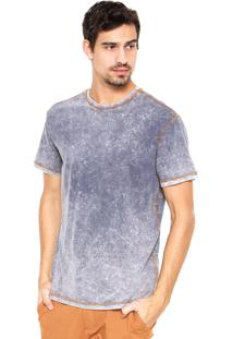 Camiseta Reserva Dupla-Face Azul