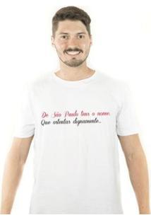 Camiseta Zé Carretilha São Tricolor Tensonome Masculina - Masculino