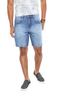 Bermuda Jeans Sommer Modern Azul