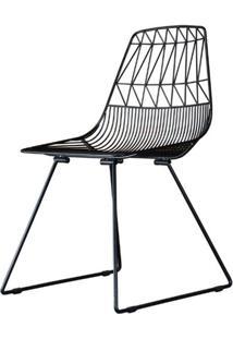 Cadeira Damasco Preto Fosco 79 Cm (Alt) - 47420 Sun House