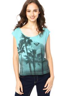Regata Roxy Especial Palm Tree Verde
