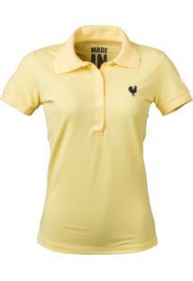 Camisa Polo Made In Mato Amarela