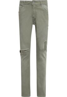 Calça Masculina Skinny Valparaiso - Verde