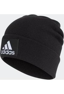 Gorro Adidas Logo - Unissex-Preto