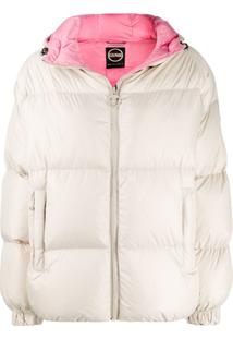 Colmar Loose-Fit Hooded Puffer Jacket - Neutro