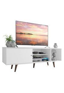 Rack Madesa Dubai Para Tv Até 65 Polegadas Com Pés - Branco/Rustic Branco