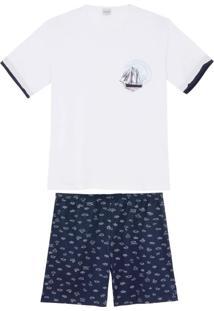 Pijama Masculino Lua Encantada Algodão Caravela
