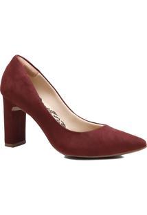 Sapato Feminino Scarpin Zariff Salto Barra