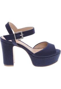 Sandália Fabric Dress Blue | Schutz