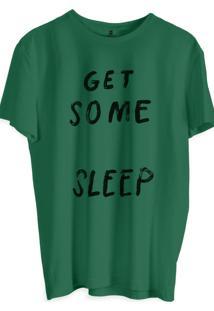 Camiseta Masculina Joss Estampa Get Some Verde Musgo