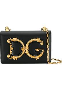 Dolce & Gabbana Bolsa Transversal 'Dg Girls' - Preto