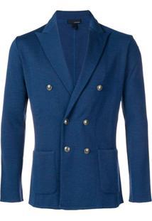 Lardini Classic Formal Blazer - Azul