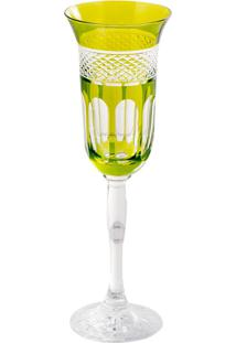 Taça De Cristal Para Champanhe 150Ml Verde Lodz