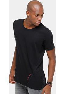 Camiseta Calvin Klein Long Recorte Masculina - Masculino