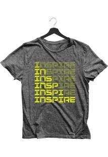 Camiseta Jay Jay Básica Inspire Neon Chumbo